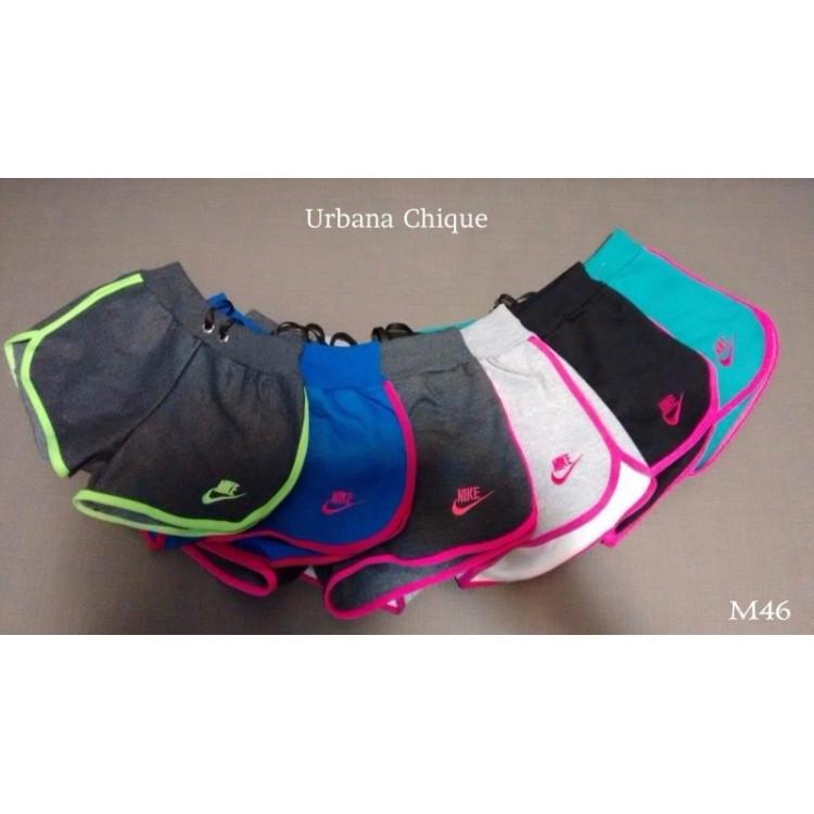 Shorts Lindo Moleton Feminino Algodão Bermuda Nike
